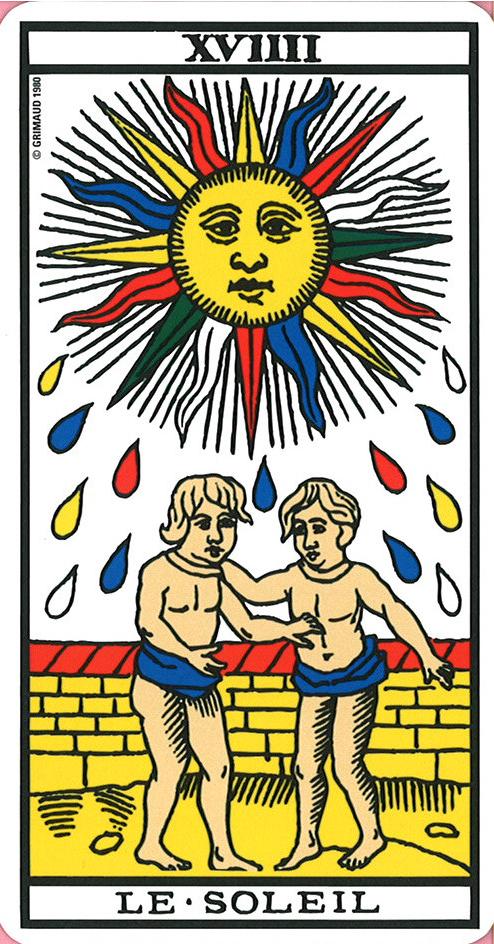 soleil tarot